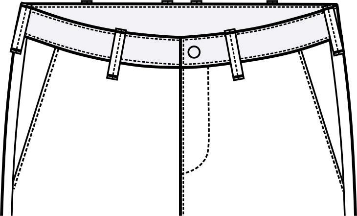 衣袢设计图